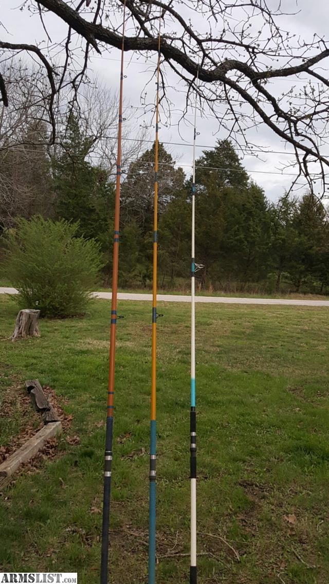 Armslist for sale striper catfish snagging surf rods for Custom fishing rods for sale
