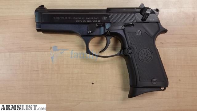 ARMSLIST - For Sale: Beretta 92FS COMPACT 9MM BLK 13+1 NO