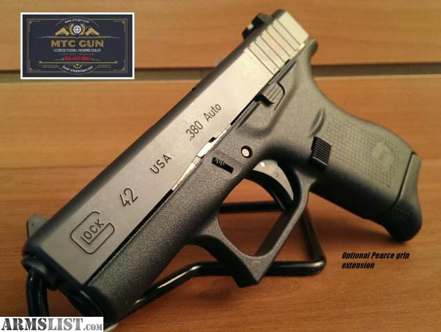 ARMSLIST - For Sale: Glock 42  380 pistols