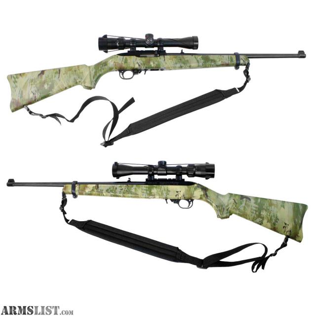 For Sale: Ruger 10/22 22LR Wolf Camo Rifle