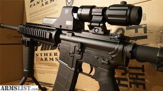 armslist for sale dpms ar15 w eotech 512 5x magnifier vector optics