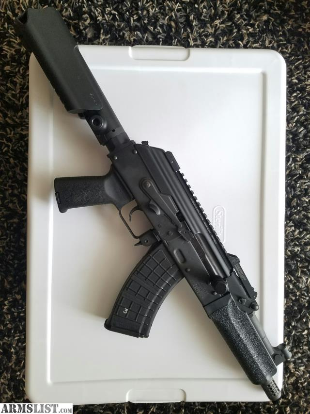 ARMSLIST - For Sale: Custom Mini Draco AK Pistol AK47 7 62x39