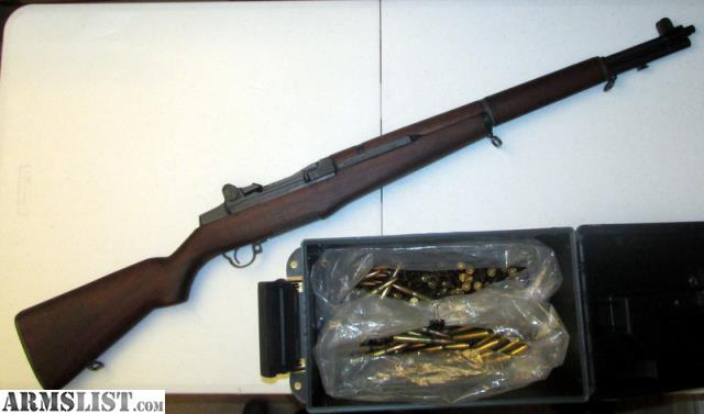 ARMSLIST - For Sale: M1 Garand HRA Correct Grade w/AMMO and