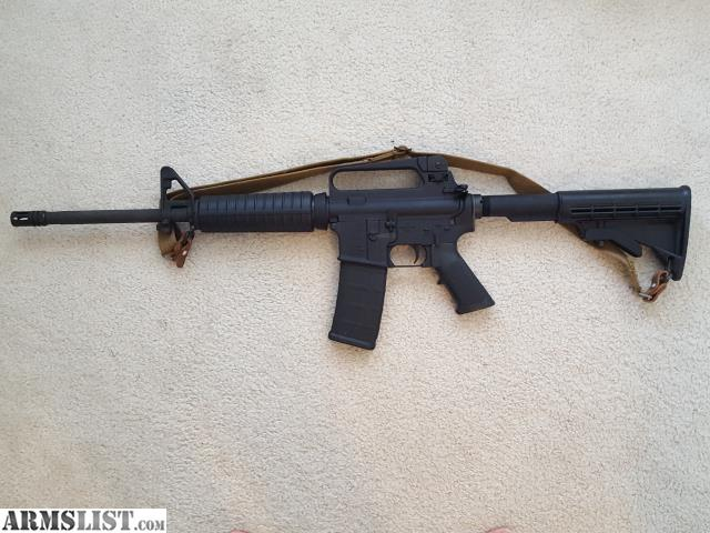 For Sale: Bushmaster XM15 5.56 AR15