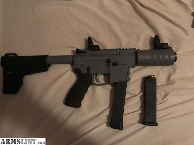 ARMSLIST - For Sale: 9mm AR Pistol