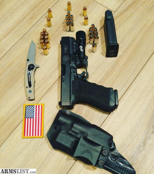 ARMSLIST - For Sale: Custom Glock 21sf FWC