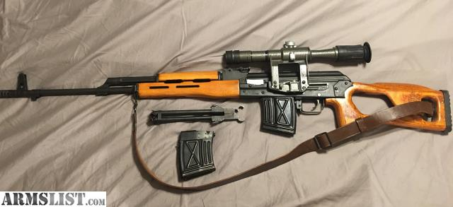 Armslist For Sale Psl 54 Svd Clone