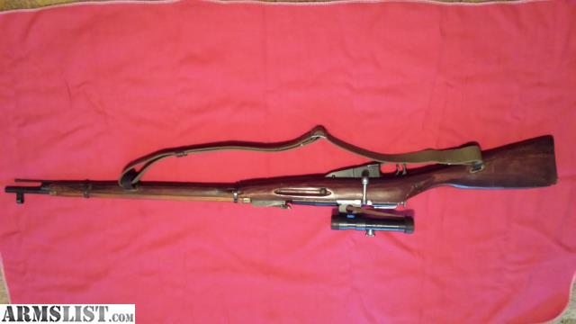 ARMSLIST - For Sale: Mosin Nagant 91/30 PU Sniper Reproduction