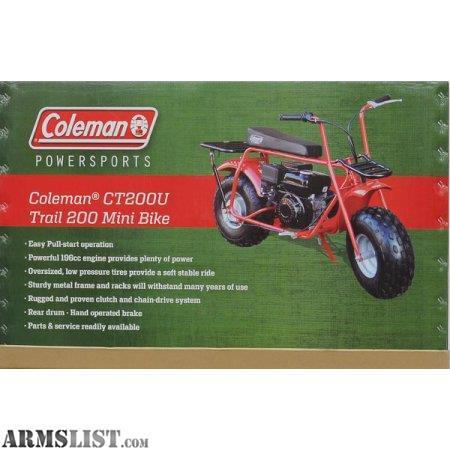 26609c8cdc7 Armslist For Sale Trade Coleman Mini Bike