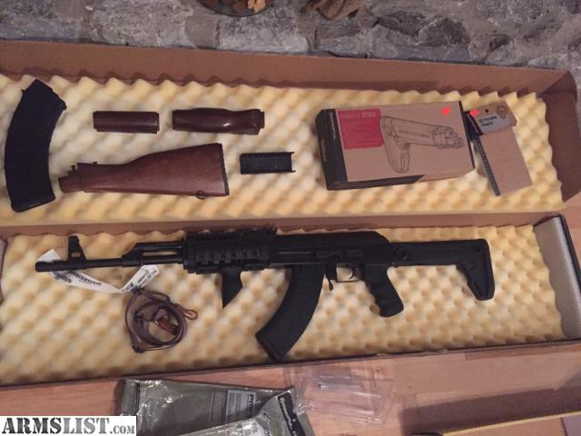 ARMSLIST - For Sale/Trade: Century Arms AK 47 C39V2 with upgrades AK47