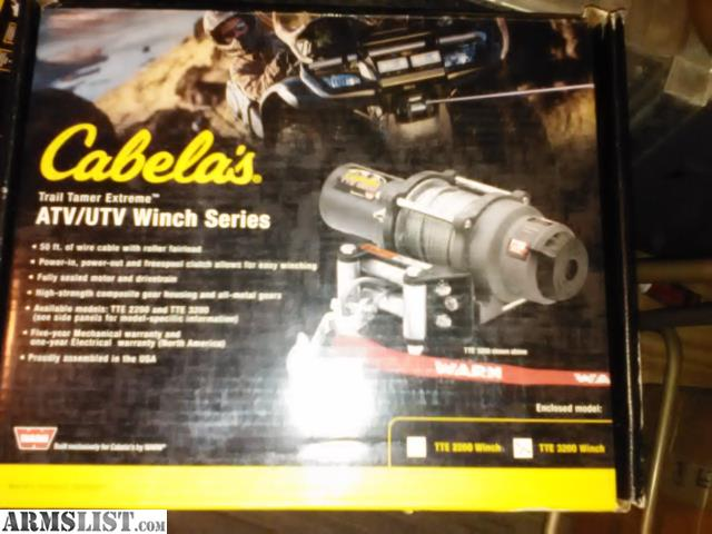 ARMSLIST - For Sale: New Warn Superwinch atv Winches For Trade