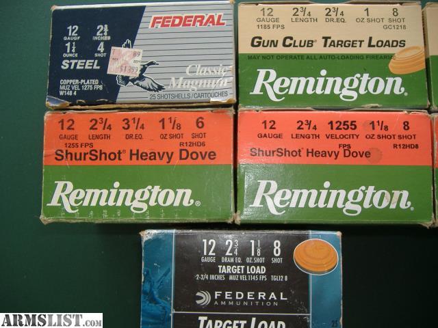 ARMSLIST - For Sale/Trade: 12 Gauge Shotgun Shells Winchester