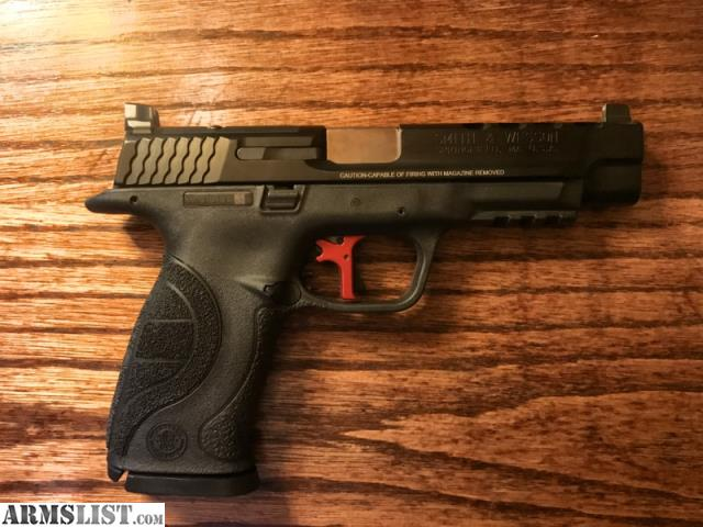Armslist for sale m p performance center core ported for M p ported core 9mm
