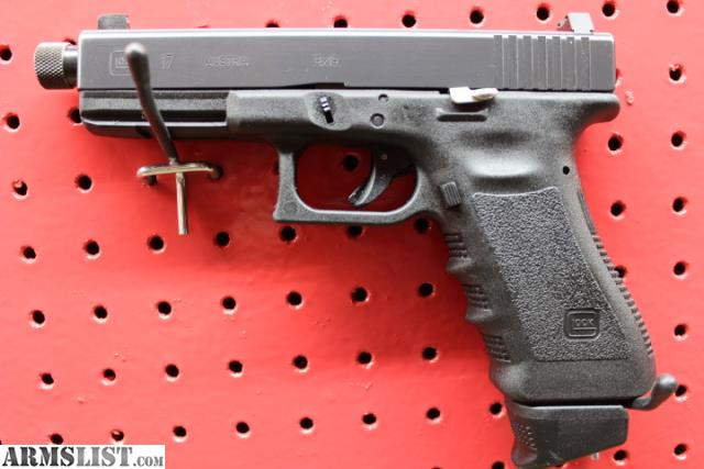 Armslist For Sale Glock 17 Suppressor Ready Package
