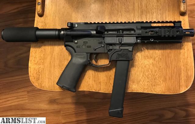 Washington State Sales Tax 2017 >> ARMSLIST - For Sale: 9mm AR Pistol