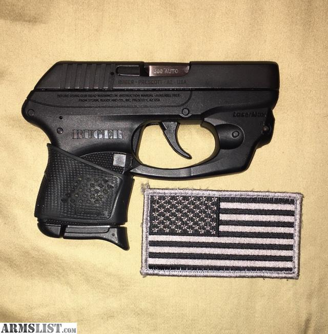 ARMSLIST - For Sale/Trade: Ruger LCP Lasermax/350rds ammo/3