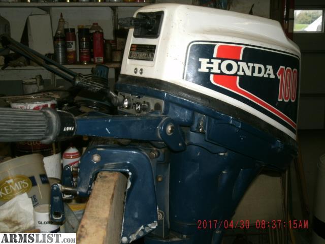 Armslist For Sale Honda 100 Outboard Motor 10 Hp