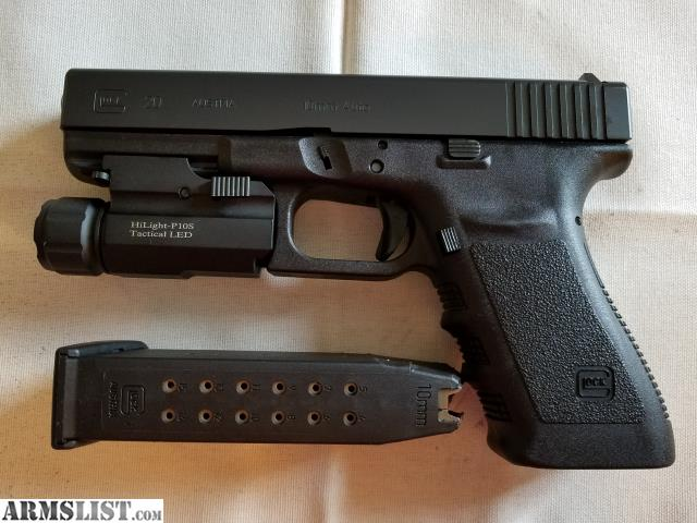 ARMSLIST - For Sale: Glock 20 gen 3 with ammo