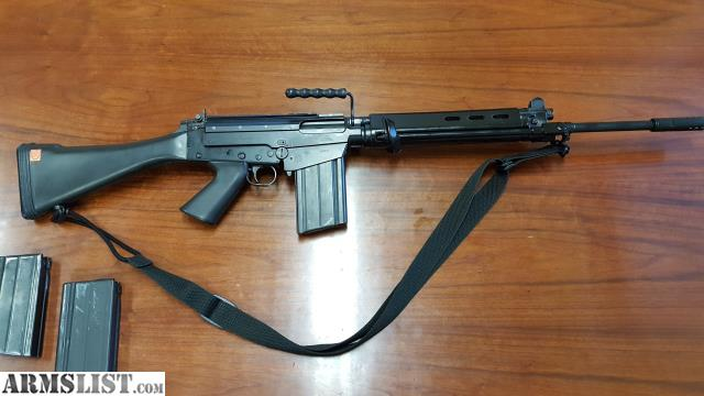 Armslist For Sale Fn Fal By Springfield Arms 762mm 308 Match