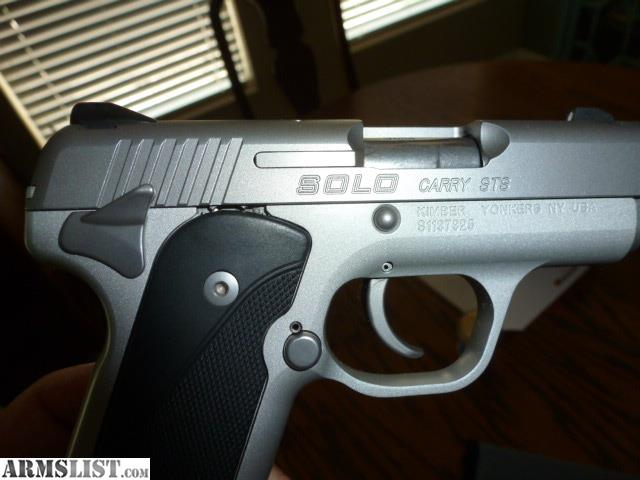armslist for trade trading kimber solo carry sts rh armslist com Kimber Micro 9 Kimber 1911