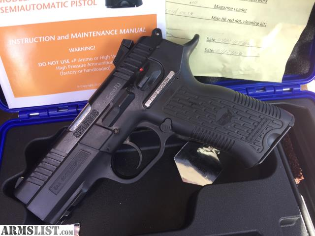 For Sale/Trade: EAA SAR K2P 9mm Pistol
