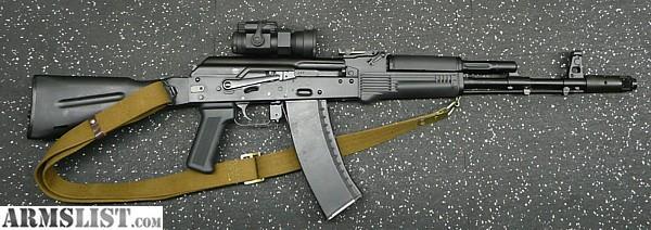 ARMSLIST - For Sale: Arsenal / FIME SGL31-94 AK74 Rifle Rig