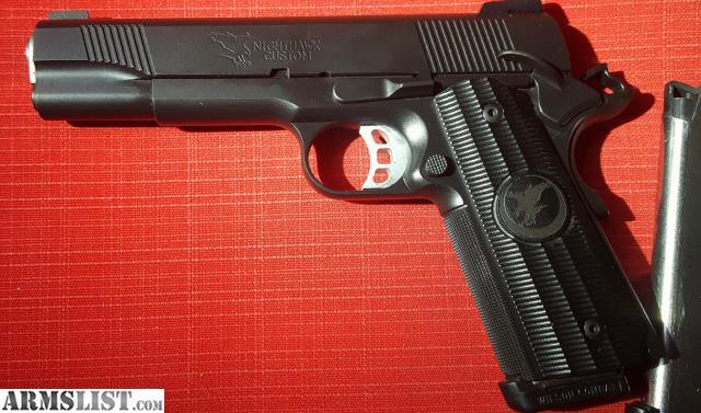 ARMSLIST - For Sale: NightHawk Custom GRP 9mm 1911 w