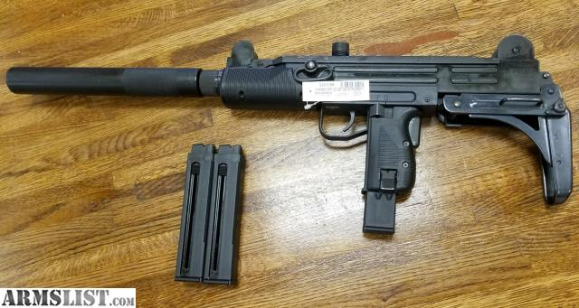Uzi Long Barrel: Walther IWI UZI Carbine  22 LR 16 1