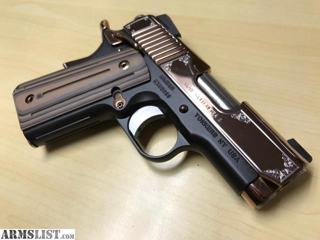 ARMSLIST - For Sale: NEW Kimber Rose Gold Ultra II Special
