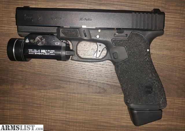 ARMSLIST - For Sale/Trade: Custom Glock 21 Gen 3 w/ extras