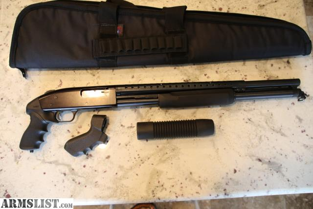 ARMSLIST - For Sale: BNIC MOSSBERG TACTICAL PERSUADER 8 ...