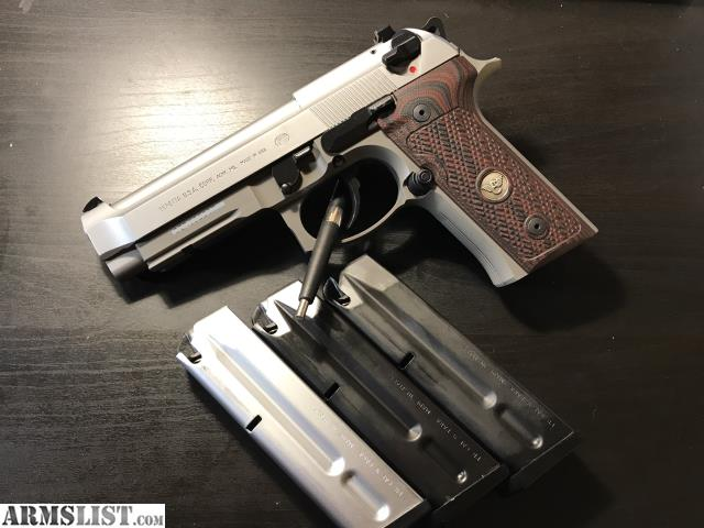 ARMSLIST - For Sale: Beretta 92 Vertec with Extras