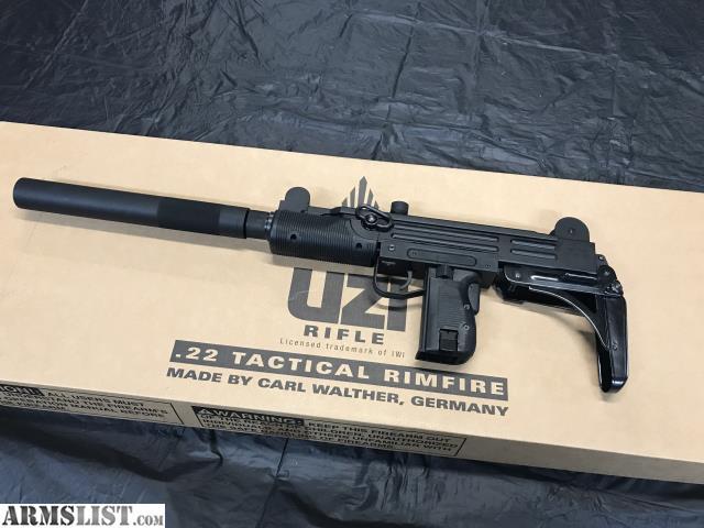 ARMSLIST - For Sale: IWI UZI  22 tactical rifle w/3 20 round