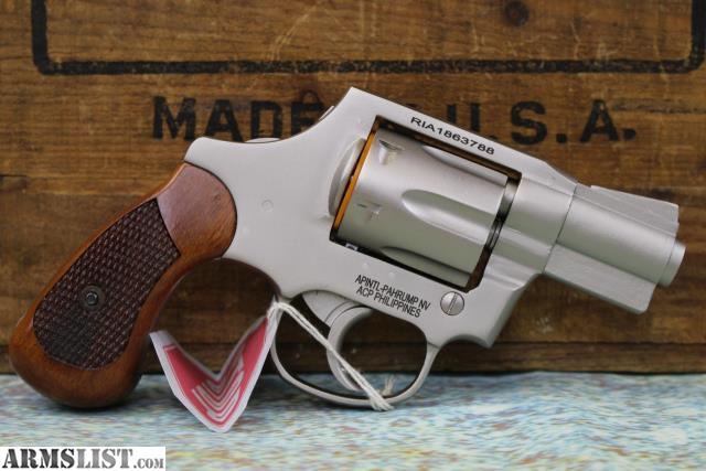 ARMSLIST - For Sale: ARMSCOR M206MT 38SPL Stainless Revolver NEW