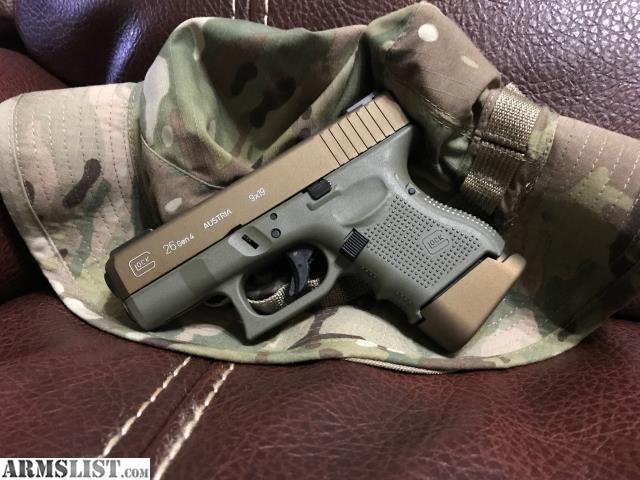 Armslist For Sale Price Reduced Glock 26 Gen 4 Bfgburnt Bronze