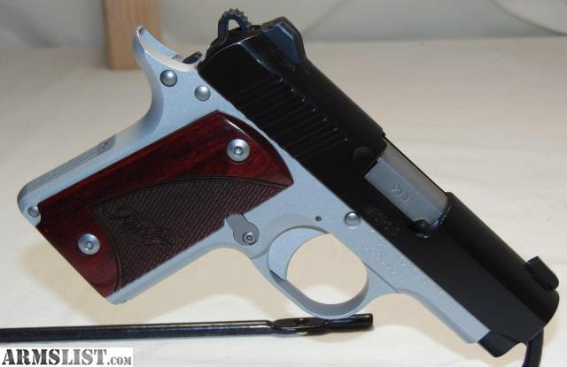 ARMSLIST - For Sale: Kimber Micro 9 Two-Tone 9mm Sub-Compact
