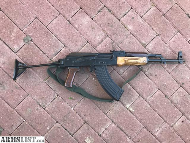 ARMSLIST - For Sale/Trade: AK 47 Maadi Intrac with crutch