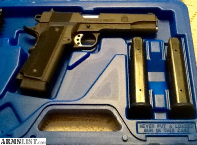 Armslist For Sale Springfield 1911 A1 45 Hi Cap