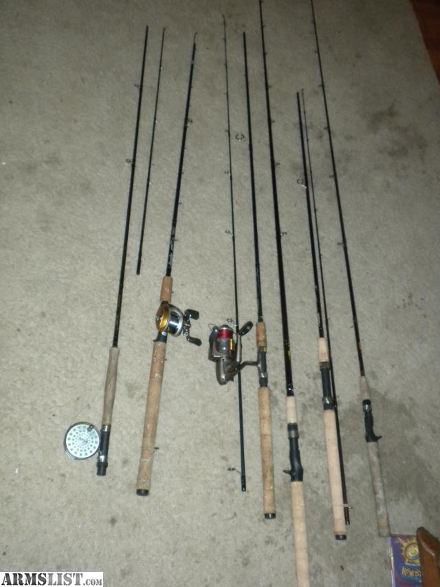 Armslist for sale trade 6 lamiglas salmon steelhead for Lamiglas fishing rods