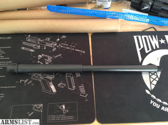 New Unused 16 300 Blackout Bull Barrel 1 8 Twist Parkarized Carbine Length System The Is A US Contractor Meaning Its Over Stock