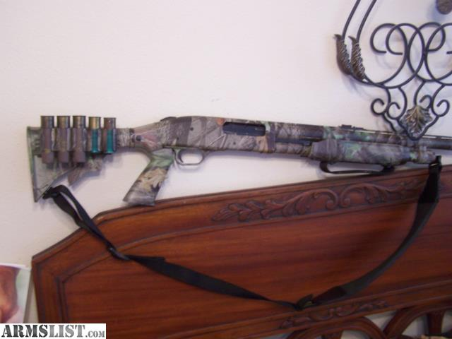 "ARMSLIST - For Sale/Trade: MOSSBERG TACTICAL 3 1/2"" CAMO."