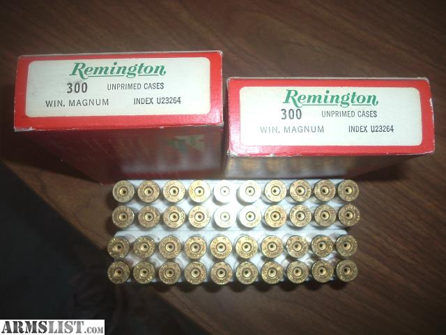 armslist for sale 300 winchester mag brass