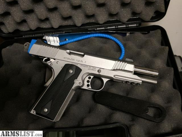 Armslist For Sale Kimber Stainless Tle Ii 5 Quot 45 Acp 1911