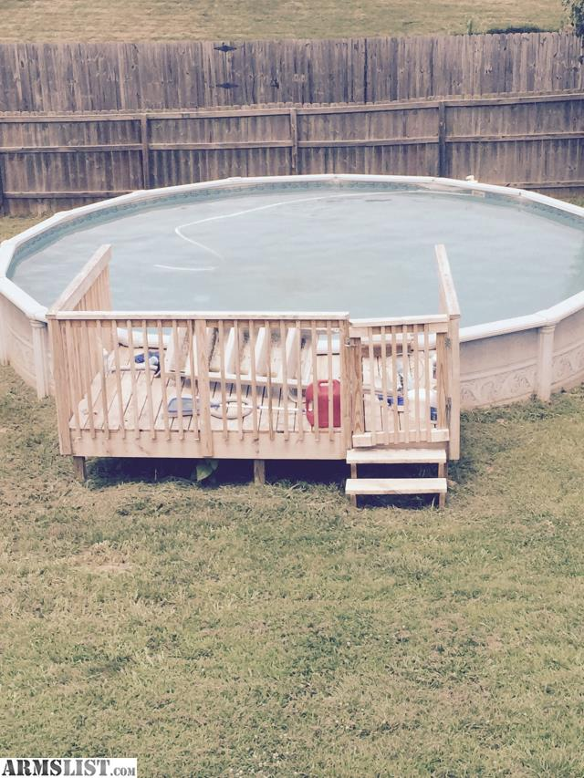 Armslist for trade 25 39 swimming pool for Pool trading