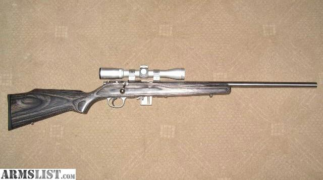 Armslist For Sale Marlin 17 Hmr Stainless With