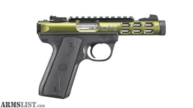 Armslist For Sale Dark Od Green Anodized Ruger Mark Iv