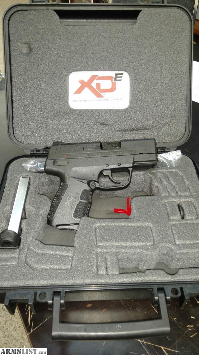 New Handguns 2017 >> ARMSLIST - For Sale: Springfield XDe 9mm