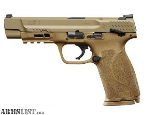 ARMSLIST - For Sale: SMITH AND WESSON FDE M&P9 M2.0 9MM