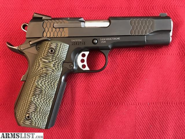 ARMSLIST - For Sale/Trade: SW1911SC Smith and Wesson 1911 Scandium