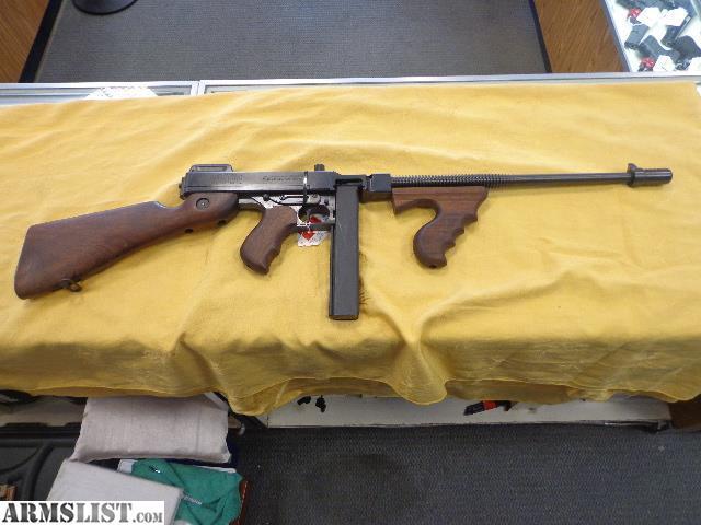 ARMSLIST - For Sale: Auto Ordnance Tommy Gun Thompson  45